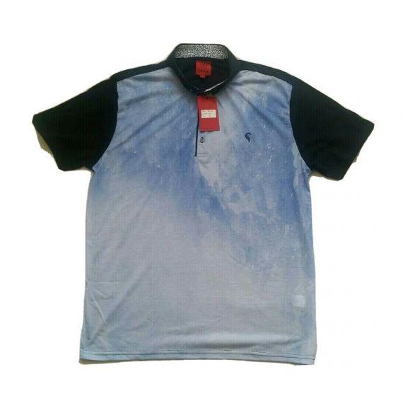 Men blue polo t-shirt sizes S, M, XXL