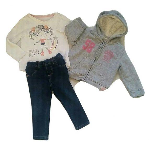 Baby girl 3 piece bundle 12-18m