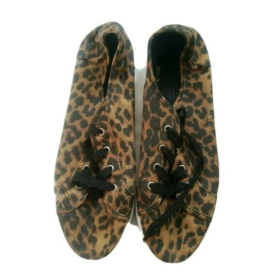 Ladies and Women brown/black mix trainers UK 8