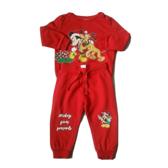 Red tracksuit 12-18m