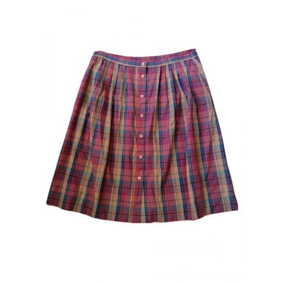 check skirt UK 22W