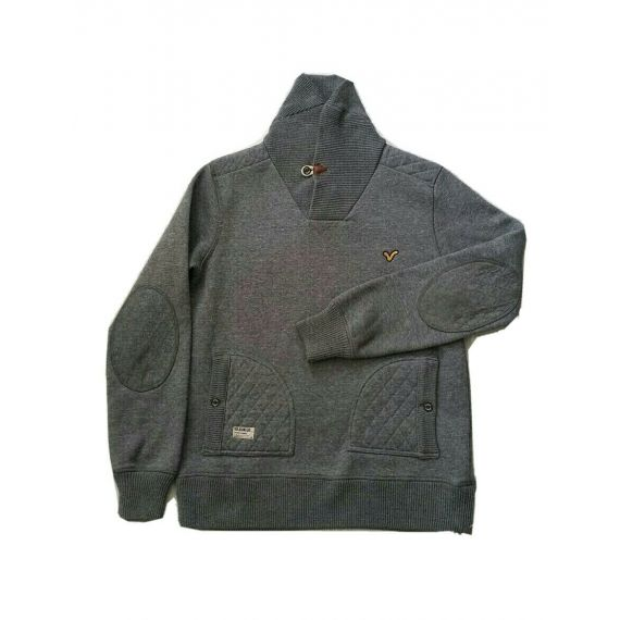 Men Voi Jeans Co grey pullover Jumper, Medium