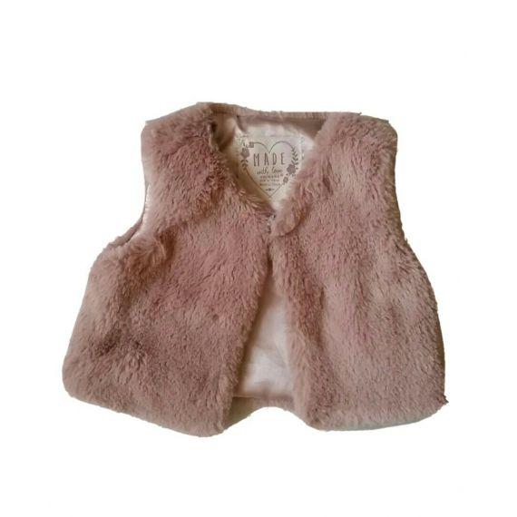 Pink shawl 6-9m