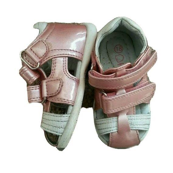 Baby girl pink sandal UK 2 EU 18