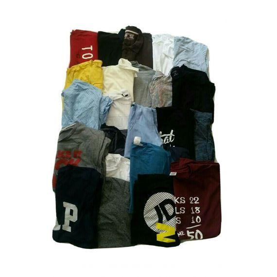 Men wholesale t-shirt, mini bale