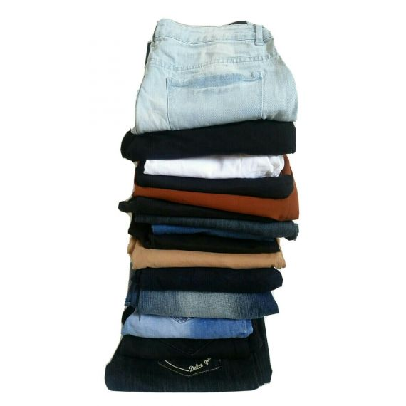 Ladies Grade A USED CLOTHES Trousers, mini Bale