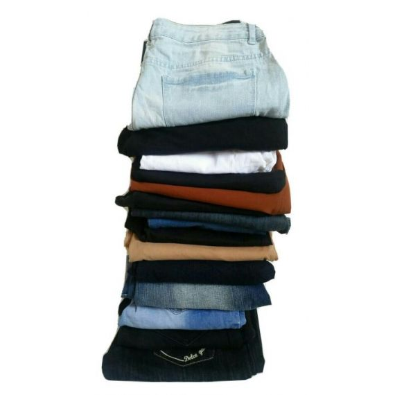 Ladies used jeans and trouser wholesale
