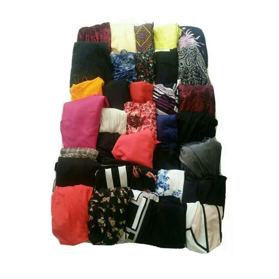 Ladies Grade A used clothes, Assorted Dresses, mini Bale