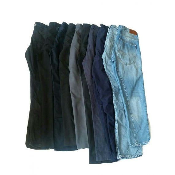 Men used wholesale bundle trouser