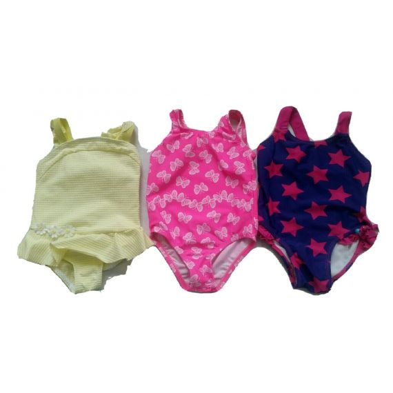 Baby girl swimming suit bundle 9-12 months