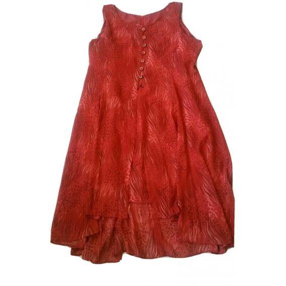 Ladies And Women red Dress UK 24-26
