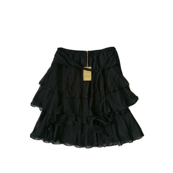 Chiffon black skirt UK 10
