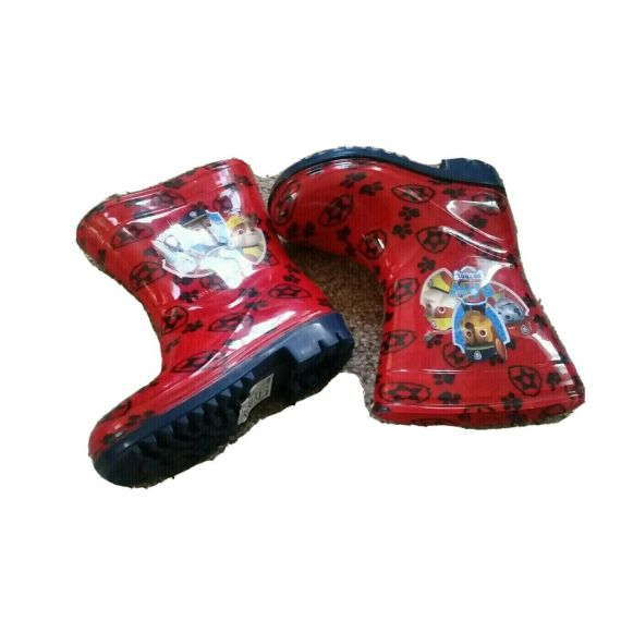 Baby boy red wellies UK 4 EU 20