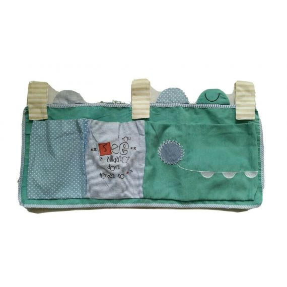 Baby nappy and wipe organiser