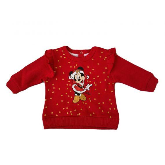Mickey red sweatshirt 3-6m