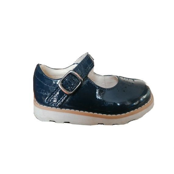 Clark patent shoe UK 4 EU 20