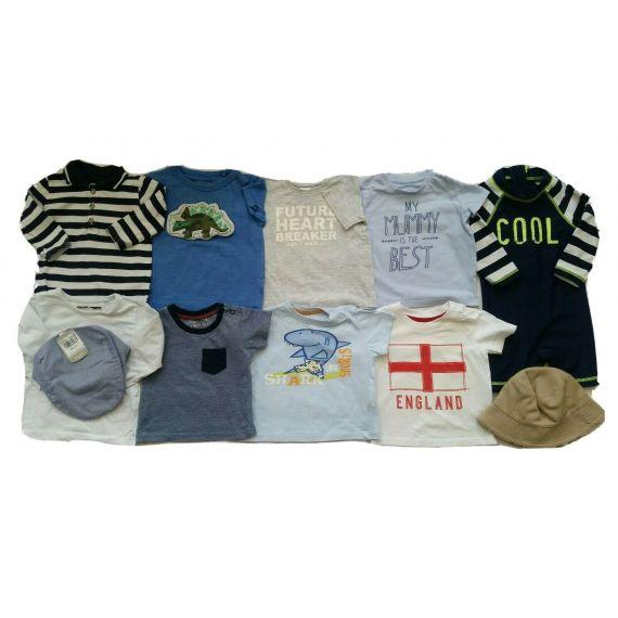 Mothercare baby boy  bundle 6-9m