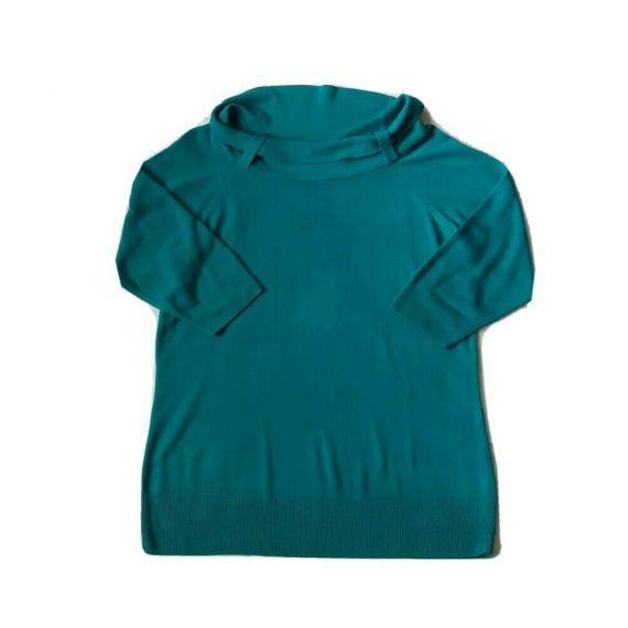 Ladies green jumper top UK 20