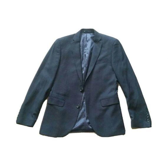 Men Next navy blue slim fit suit jacket only 38R