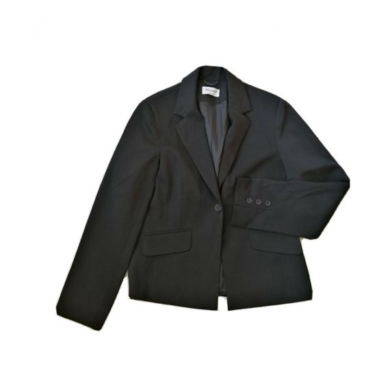 Black formal blazer suit UK 12