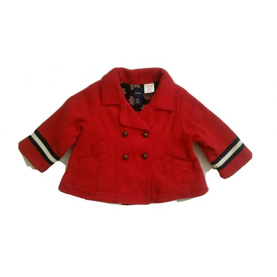Baby girl red Gap jacket 6-12 months