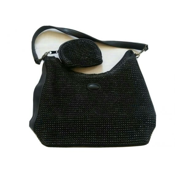 Ladies and Women small black bag 11.5×8×3.5