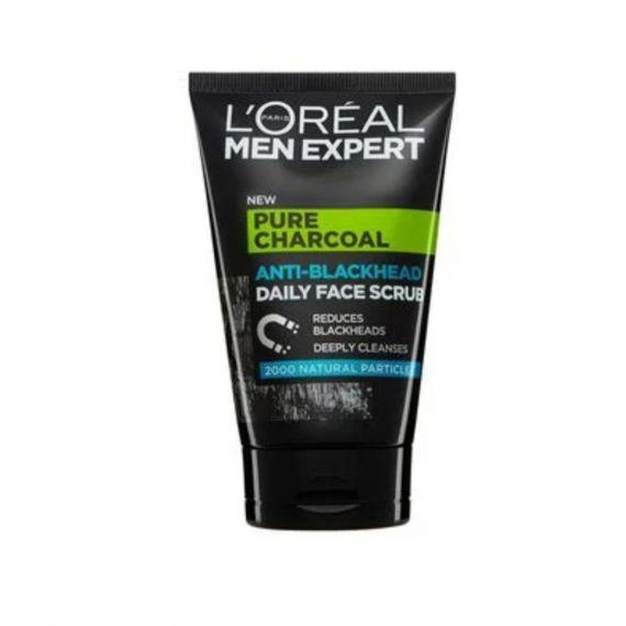 Men L'Oréal blackhead face scrub