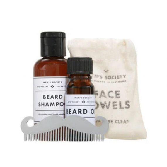 Men Beard washing kit