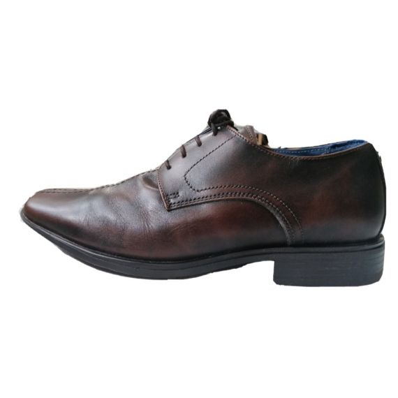 Men Next brown lace-up shoe UK 8 EU 42