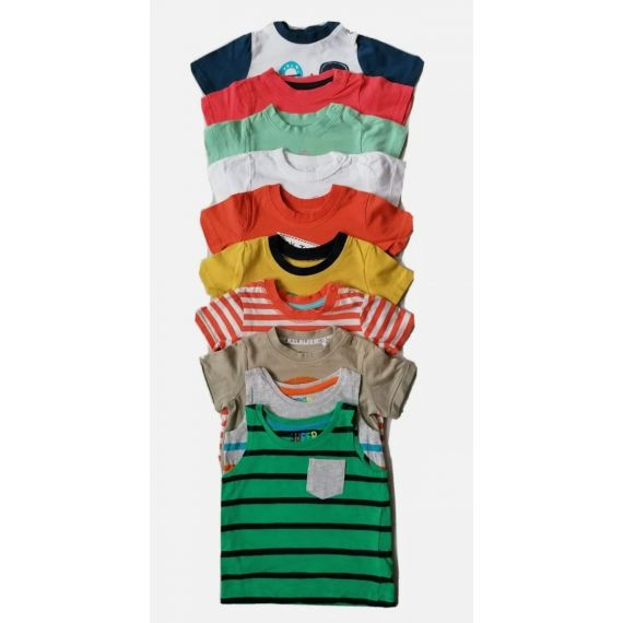 Baby Boy mothercare t-shirts 3-6m