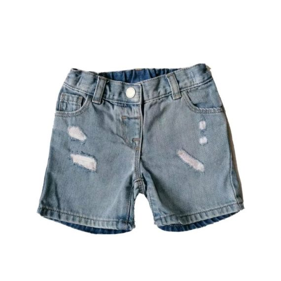 Denim Next girls shorts 12-18m