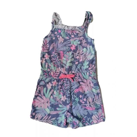 Purple mix playsuit 2-3 years