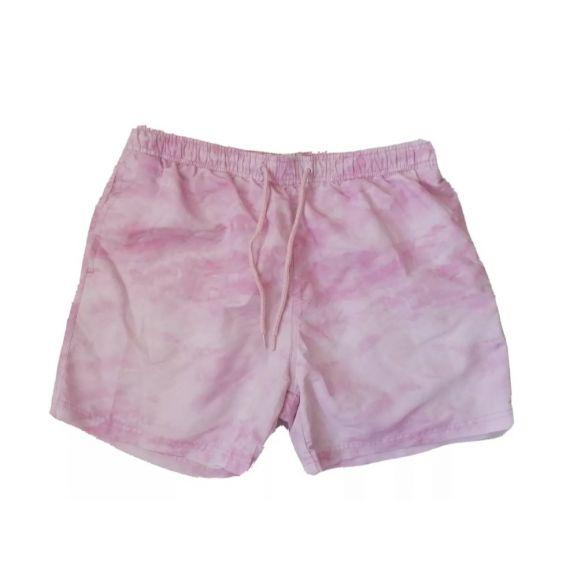 Men pink swimming shorts Large