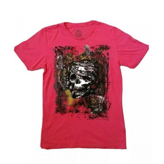 Men pink t-shirt small