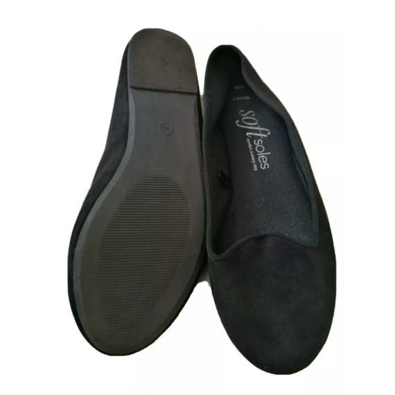 Black flat shoe UK 5
