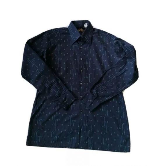 Casual blue shirt Large