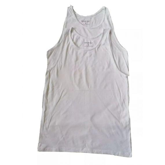 2 x White vest medium