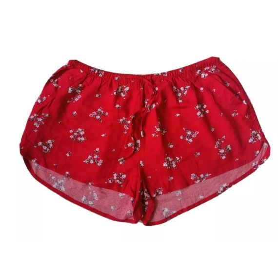 H&M red shorts UK 12