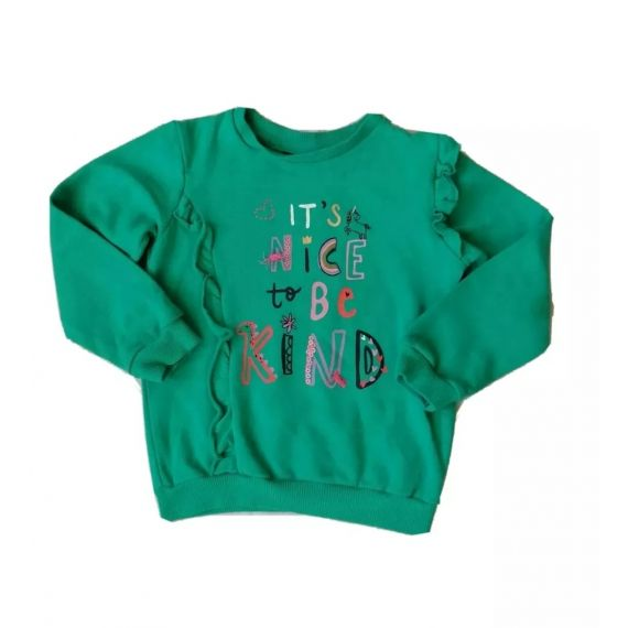 Green Sweatshirt 4-5 years