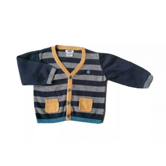 Blue/stripe jumper 3-6m