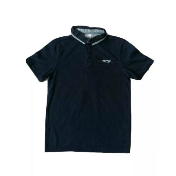 Navy polo t-shirt 8-9 Years