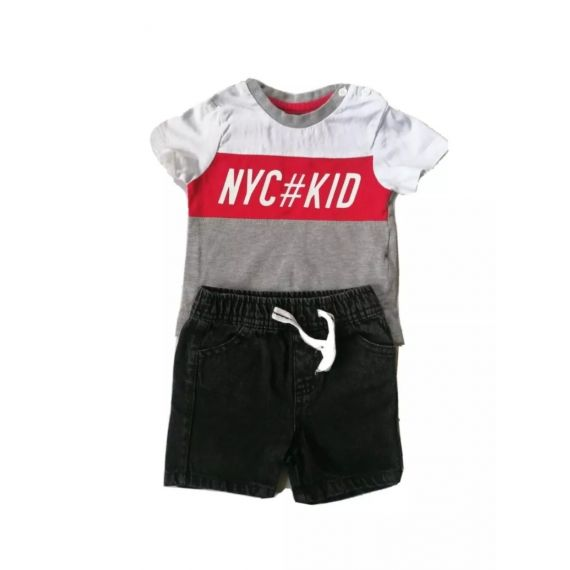 NYC Kid outfit 3-6m