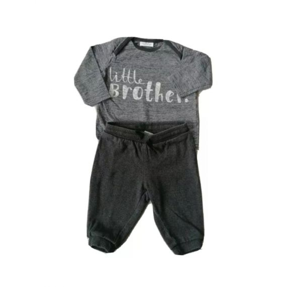 Grey outfit 3-6m