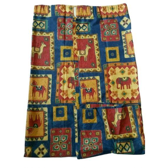 2 x Kids Curtain, Measures: 65.5 X 54.5 Inchs