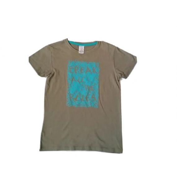 Boys rules t-shirt 9-10