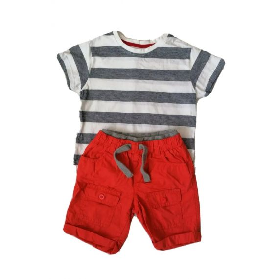 Shorts and t-shirt 2-3 years