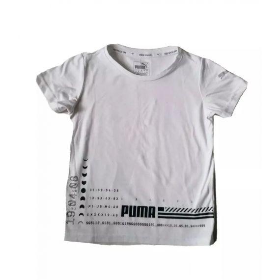 White Puma t-shirt 4-5 years