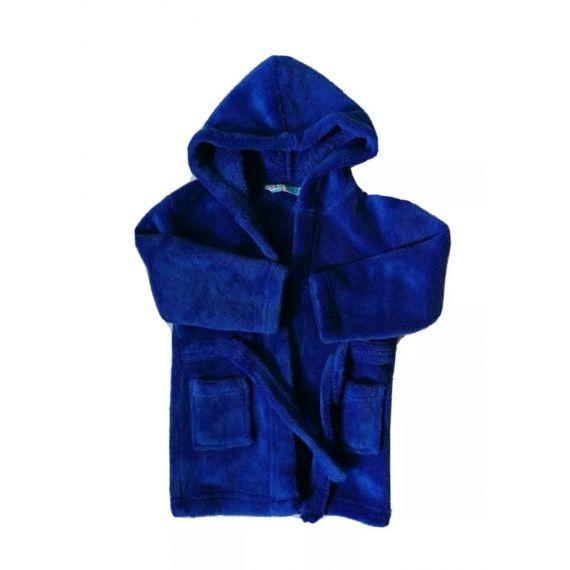 Blue bathrobe 18-24m