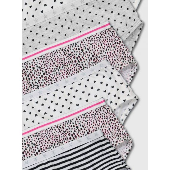 Girls pack of 10 briefs 4-5 years